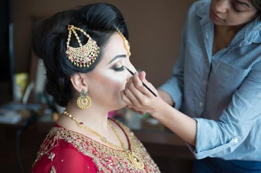 asian wedding make up