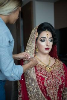 Indain Wedding Bridal Prep